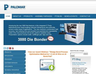 palomartechnologies.com screenshot