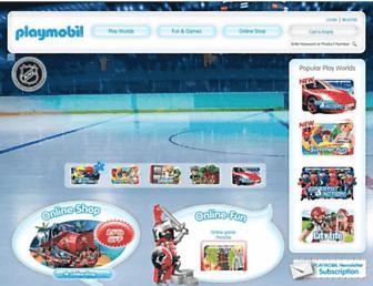 playmobil.ca screenshot