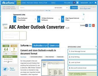 abc-amber-outlook-converter.en.softonic.com screenshot