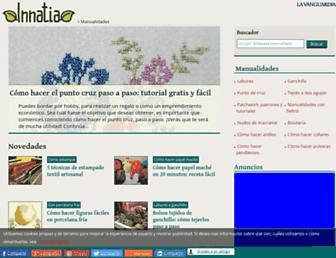 manualidades.innatia.com screenshot