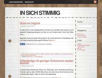 in-sich-stimmig.de screenshot