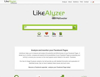 Thumbshot of Likealyzer.com