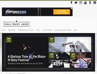 Thumbshot of Hailmaryjane.com