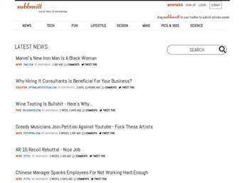 Thumbshot of Subbmitt.com