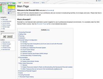 rivendell.tryphon.org screenshot