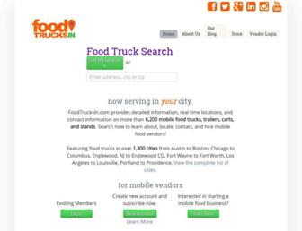 foodtrucksin.com screenshot