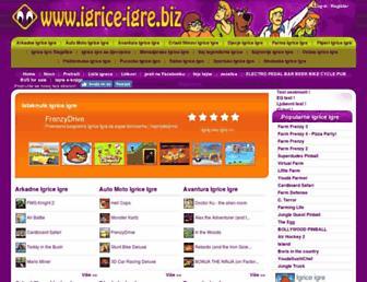 igrice-igre.biz screenshot