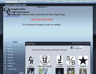 rcyachts.com screenshot