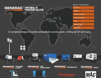 generacmobileproducts.com screenshot