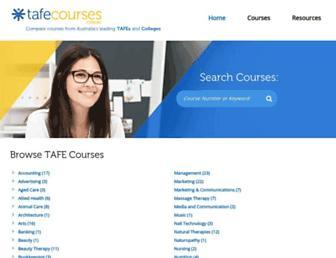 tafecourses.com.au screenshot