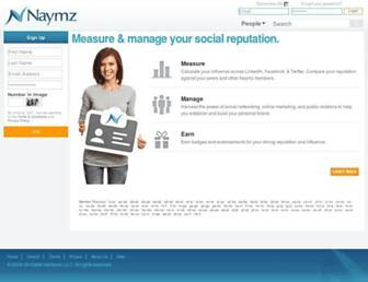 Thumbshot of Naymz.com