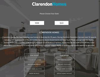 clarendon.com.au screenshot