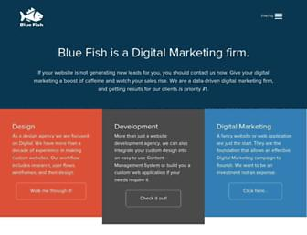 bluefishds.com screenshot