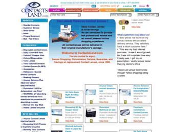contactsland.com screenshot