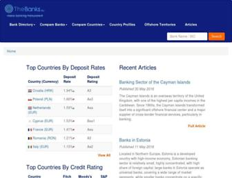 thebanks.eu screenshot