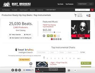 beatbrokerz.com screenshot