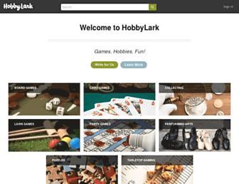 hobbylark.com screenshot