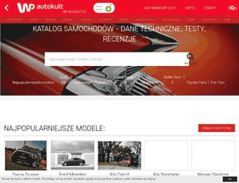 Main page screenshot of katalog.autokult.pl