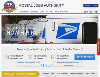 Thumbshot of Postaljobsauthority.com