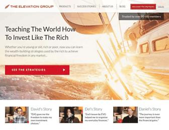 Thumbshot of Theelevationgroup.com