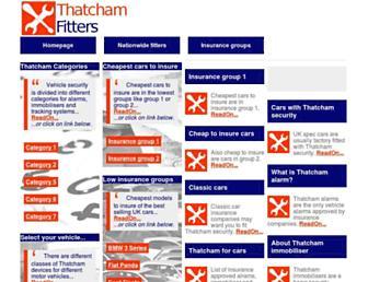 thatchamfitters.co.uk screenshot