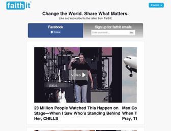 Thumbshot of Faithit.com