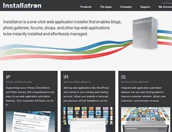 installatron.com screenshot