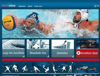 eurolloto.com screenshot