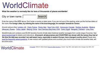 Thumbshot of Worldclimate.com