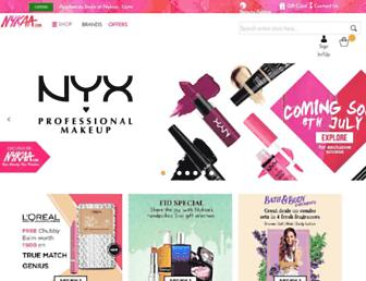Thumbshot of Nykaa.com