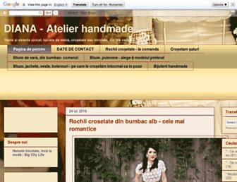 handmade-com.blogspot.com screenshot