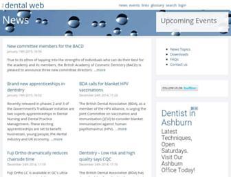 thedentalweb.org screenshot