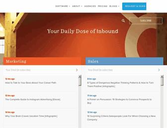 blog.hubspot.com screenshot