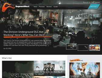 segmentnext.com screenshot