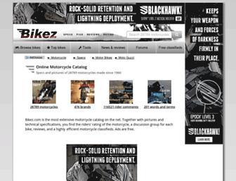 bikez.com screenshot