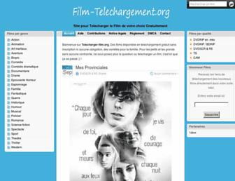 film-telechargement.org screenshot