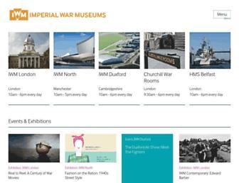 Thumbshot of Iwm.org.uk