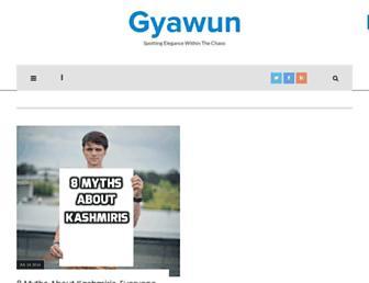 gyawun.com screenshot