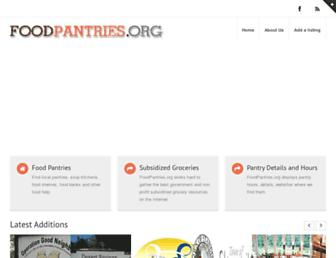 Thumbshot of Foodpantries.org