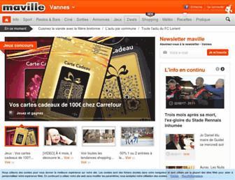 vannes.maville.com screenshot