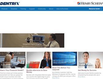 dentrix.com screenshot