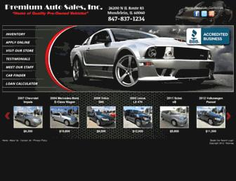 premiumautosalesinc.com screenshot