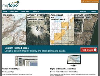 Thumbshot of Mytopo.com