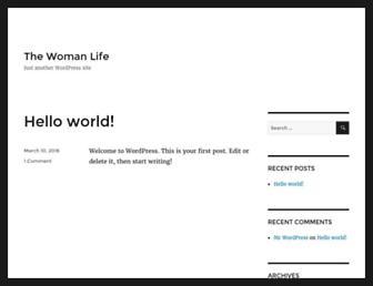 Thumbshot of Thewomanlife.com