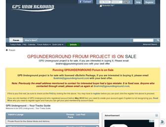 Thumbshot of Gpsunderground.com