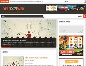 Thumbshot of Deepdotweb.com