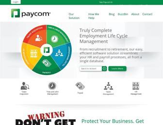 paycom.com screenshot