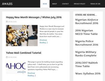 awajis.com screenshot