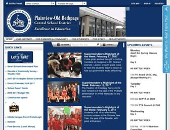 pobschools.org screenshot