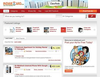 Thumbshot of Indiaboard.com